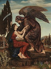 L'Ange de la Mort d'Evelyn De Morgan