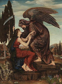Evelyn De Morgan - Angel of Death