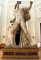 Ex-istituto d'arte, colosso (gesso di un dioscuro di montecavallo) 02.JPG