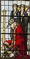 Exeter Cathedral, Stained glass window detail (36232916714).jpg