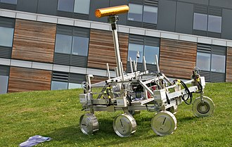 ExoMars (rover) - ExoMars rover prototype, displayed at the 2009 U.K. National Astronomy Meeting