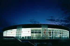 EuroBasket 2007 - Image: Exterior tocada 24oct 03 f.vidrio miguel de guzman