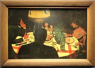 Dinner, lighting effect