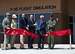 F-35 Simulator ribbon cutting 130523-F-KX404-959.jpg