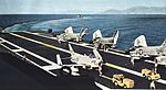 FJ-4B Furies and F3H-2 Demons on USS Lexington (CVA-16) c1961.jpg