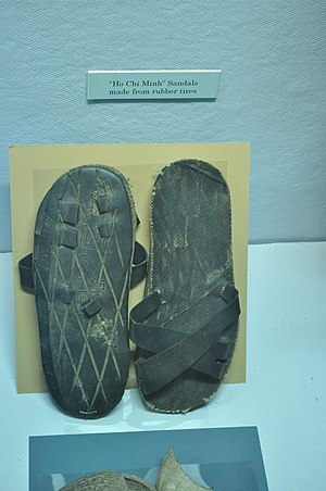 Lewis Army Museum - Image: FLMM Viet Cong sandals