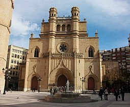 Façana de la cocatedral de santa Maria de Castelló.JPG