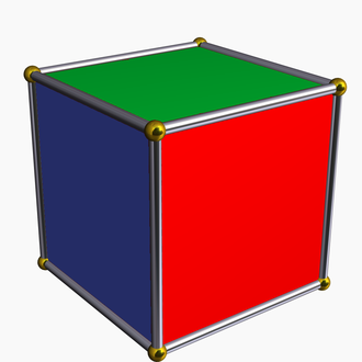 Cycle index - Cube with colored faces
