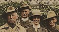 Faces detail in 1917, Group of Australian soldiers and nurse (13960882562) (cropped).jpg