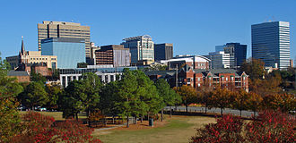 Columbia, South Carolina - Skyline of downtown Columbia