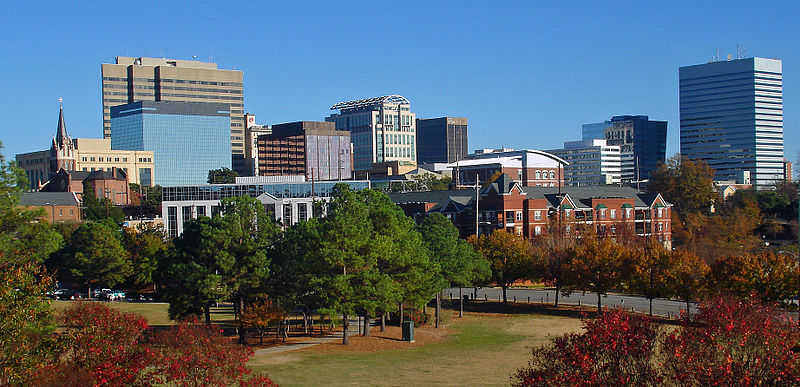 File:Fall skyline of Columbia SC from Arsenal Hill.jpg