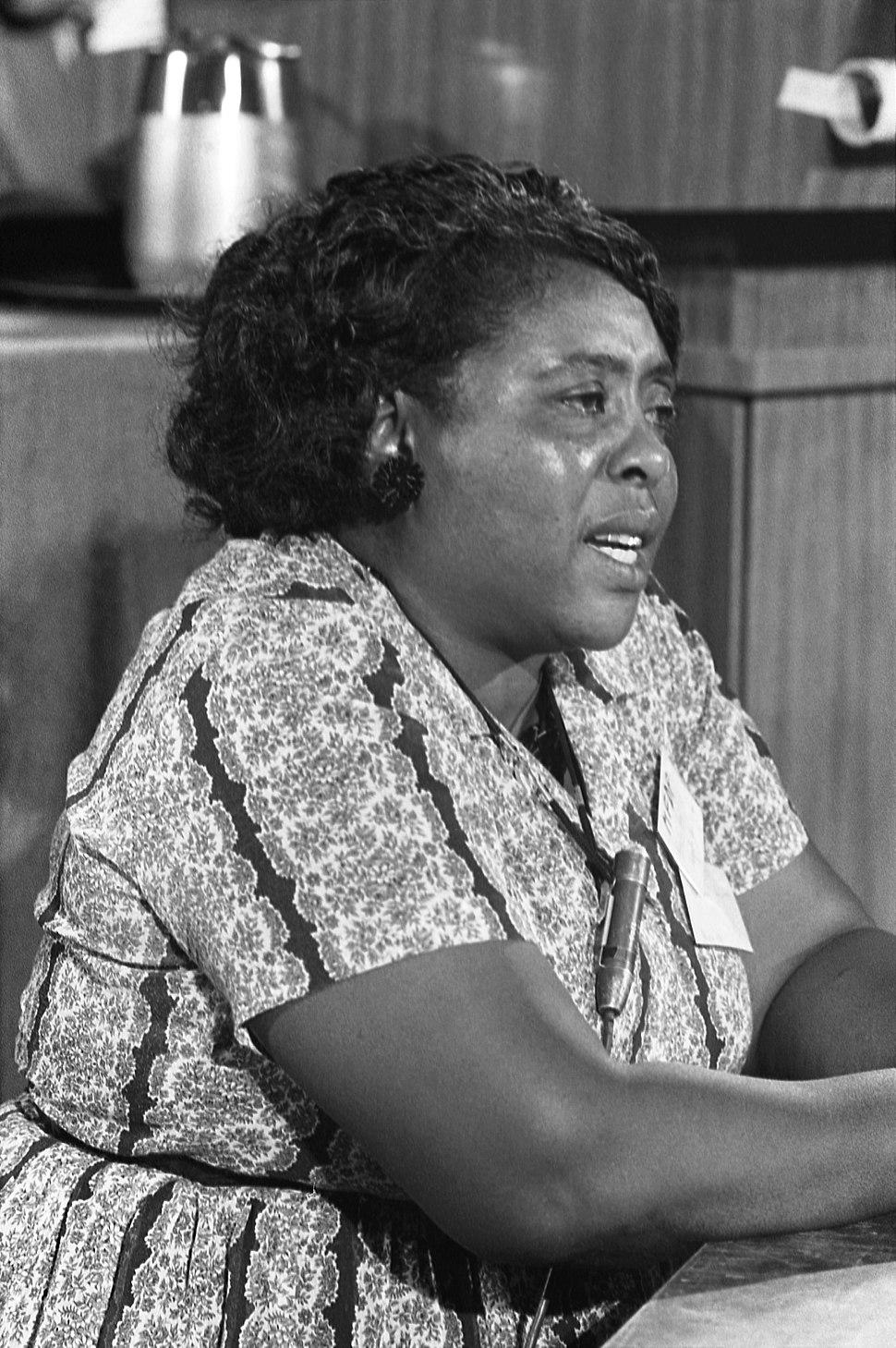 Fannie Lou Hamer 1964-08-22