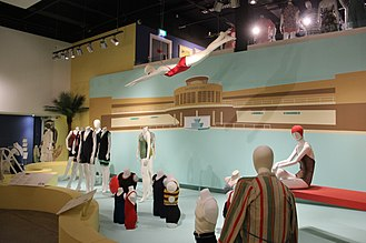 Fashion and Textile Museum - Swimwear at the museum