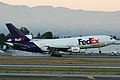 FedEx Express DC-10 landing at San Jose at 6-33am.jpg