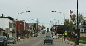 Fennimore, Wisconsin - Downtown Fennimore on US 18/US 61