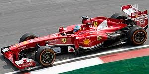 Ferrari F138 - Image: Fernando Alonso 2013 Malaysia FP1