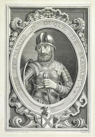Fernando II, Duke of Braganza - A posthumous engraving of D. Fernando II.