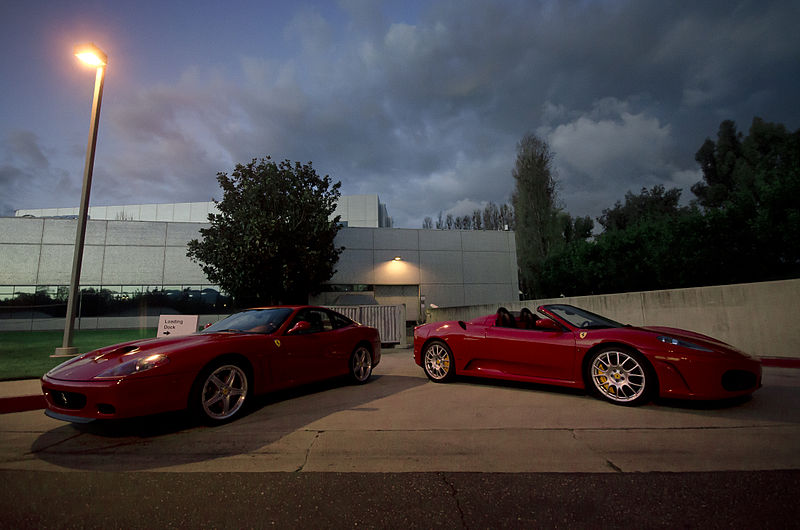 File:Ferrari 550 & F430 Spider (8323672648).jpg