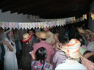 Festa Junina - A typical Brazilian festa junina