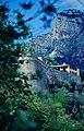 Festungsmauer Fürstenpalast Monaco in Monte-Carlo (Mai 1990).jpg