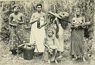 Mpongwe people - Njembe, female secret society, Mpongwe, Gabon