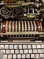 Fialka, Russian rotary cypher machine, detail.jpg