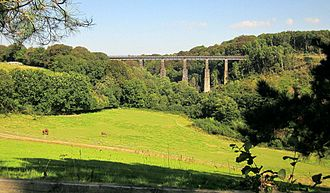 Cornwall Railway viaducts - Coldrennick viaduct