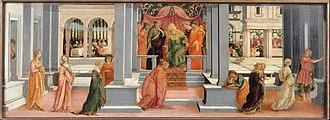 Life of Esther - Ahasuerus Chooses Esther, 47 × 131 cm, Musée Condé, Chantilly