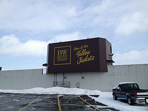 Baldwin Wallace Yellow Jackets - Finnie Stadium west entrance