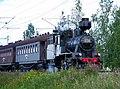 Finnish steam train (2708870419).jpg