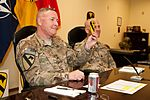 First Team commander 'hangs out' from Afghanistan 140904-A-AX945-001.jpg