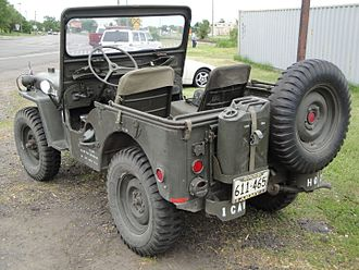 Willys M38 - Rear of M38 jeep