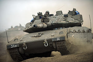 Merkava Mk. IV with TROPHY (Active Protection ...