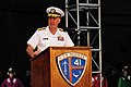 Flickr - Official U.S. Navy Imagery - Vice Chief of Naval Operations Adm. Mark Ferguson speaks during the 70th Anniversary of The Battle of Midway Commemoration ceremony on the flight deck of the USS Midway Museum in San Diego..jpg