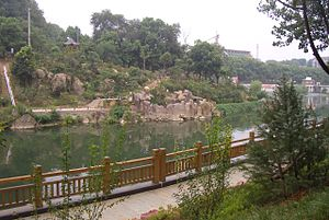 Xianning - A park in Xianning