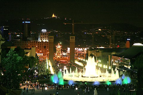 What to do at night in Barcelona