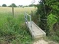 Footbridge towards Pearson's Green - geograph.org.uk - 1357032.jpg