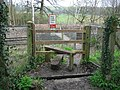 Footpath Crossing over Railway - Bough Beech - geograph.org.uk - 152662.jpg