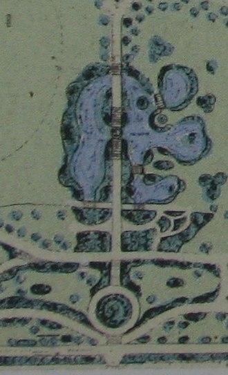 Footscray Park - Detail from original plan