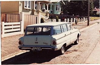 Ford Falcon (Australia) - XK Falcon wagon