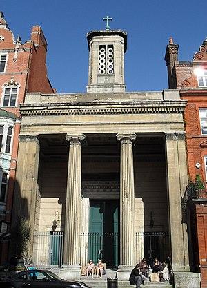 John Peter Gandy - Former St Mark's Church, North Audley Street, London (IoE Code 421605)