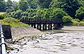 Former railway bridge over Fremington Pill - geograph.org.uk - 1492732.jpg