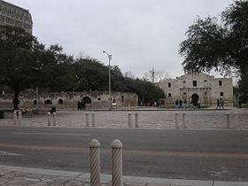 Fort Alamo, San Antonio, Texas.