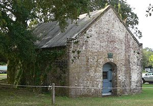 Fort Johnson (South Carolina) - The Old Magazine, photographed in 2011.