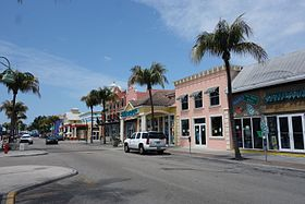 Le centre-ville de Fort Myers.