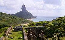 Ilha de Fernando de Noronha-1700–1900-Forte dos remédios Fernando de Noronha