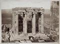 Fotografi av Athena Niketemplet på Akropolis i Aten - Hallwylska museet - 103036.tif