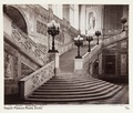 Fotografi av Palazzo Reale, scala. Neapel, Italien - Hallwylska museet - 106836.tif