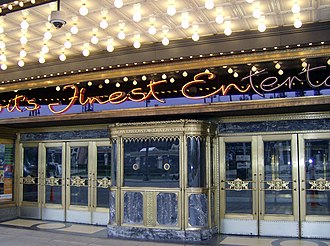 Fox Theatre (Detroit) - Image: Fox Theatre Ticket Office Detroit