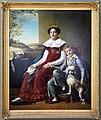 François-joseph navez, ritratto di madame de vylder e suo figlio, 1825.jpg